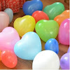 Balon Latex Hati / Balon Latex Love 320 Warna Warni