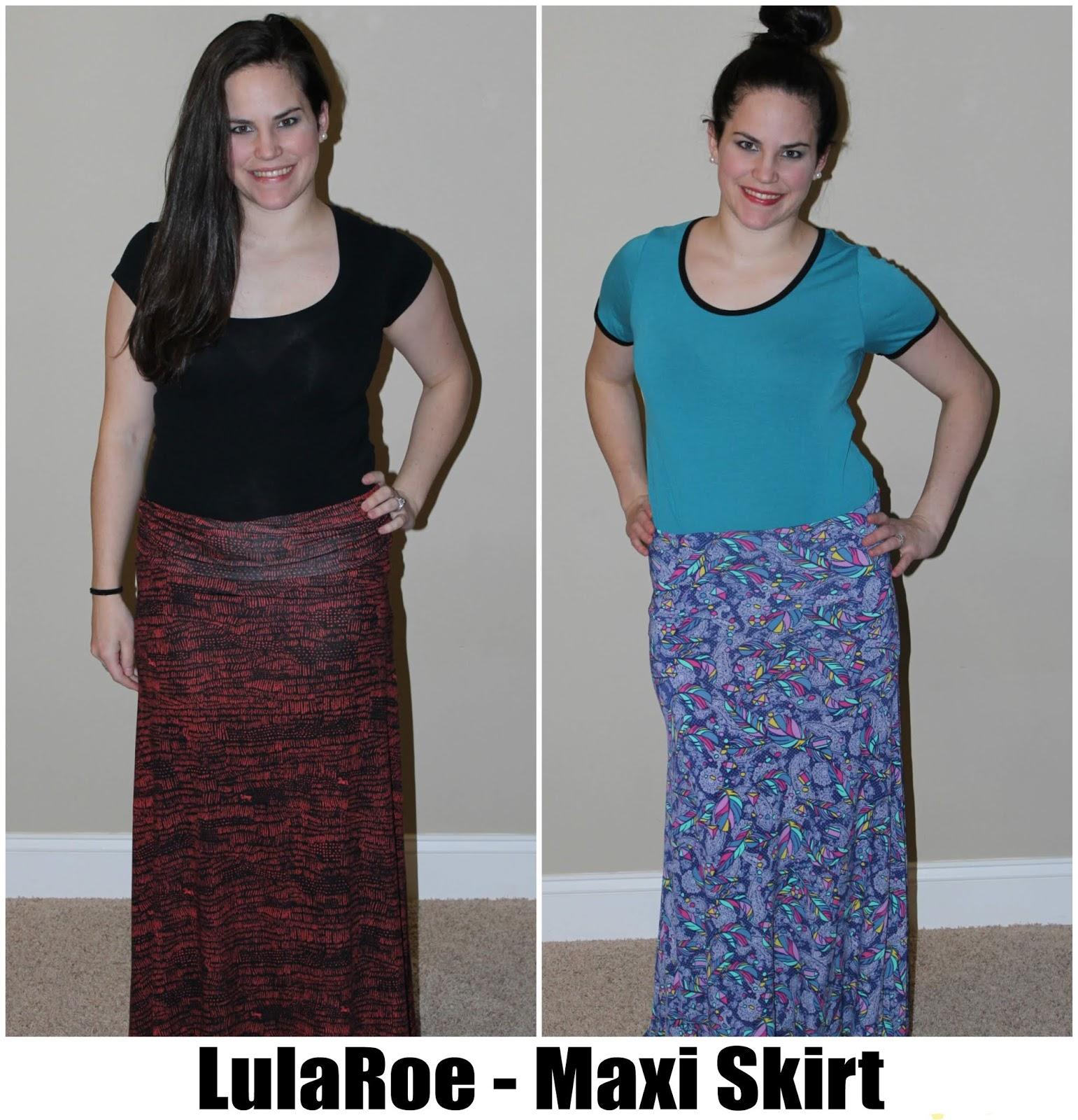 54e08d2e3b3 LulaRoe Part 4  Skirts - different ways to style Azure
