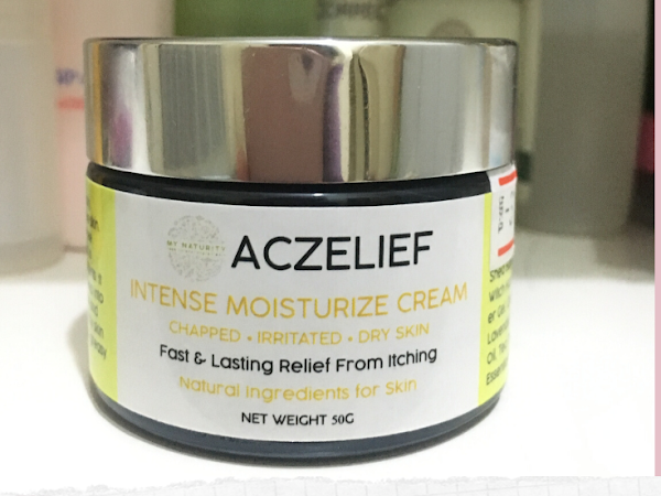 Product Review : Aczelief Intense Moisturize Cream by MyNaturity