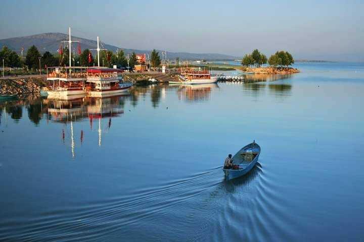 Beyşehir Gölü Konya