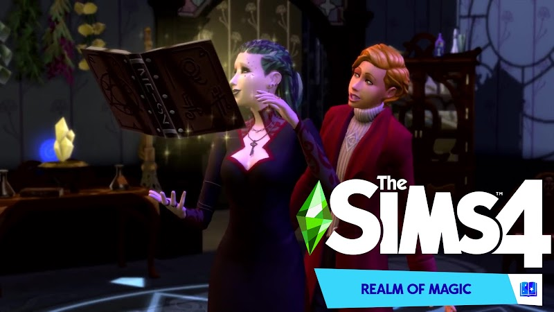 THE SIMS 4 FULL DLC v1.55.105.1020 (REALM OF MAGIC)