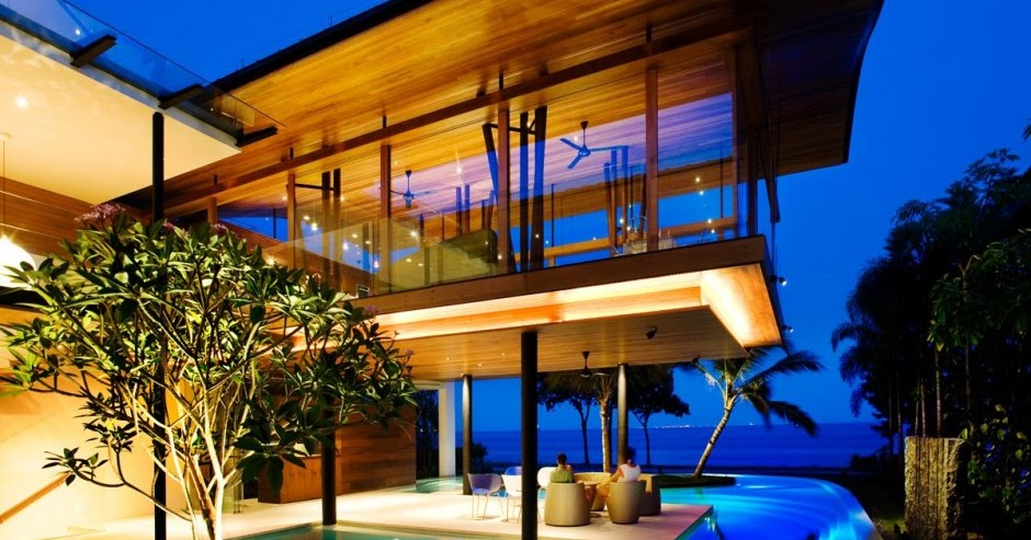 Modern luxury tropical house most beautiful houses in the for World no 1 beautiful house