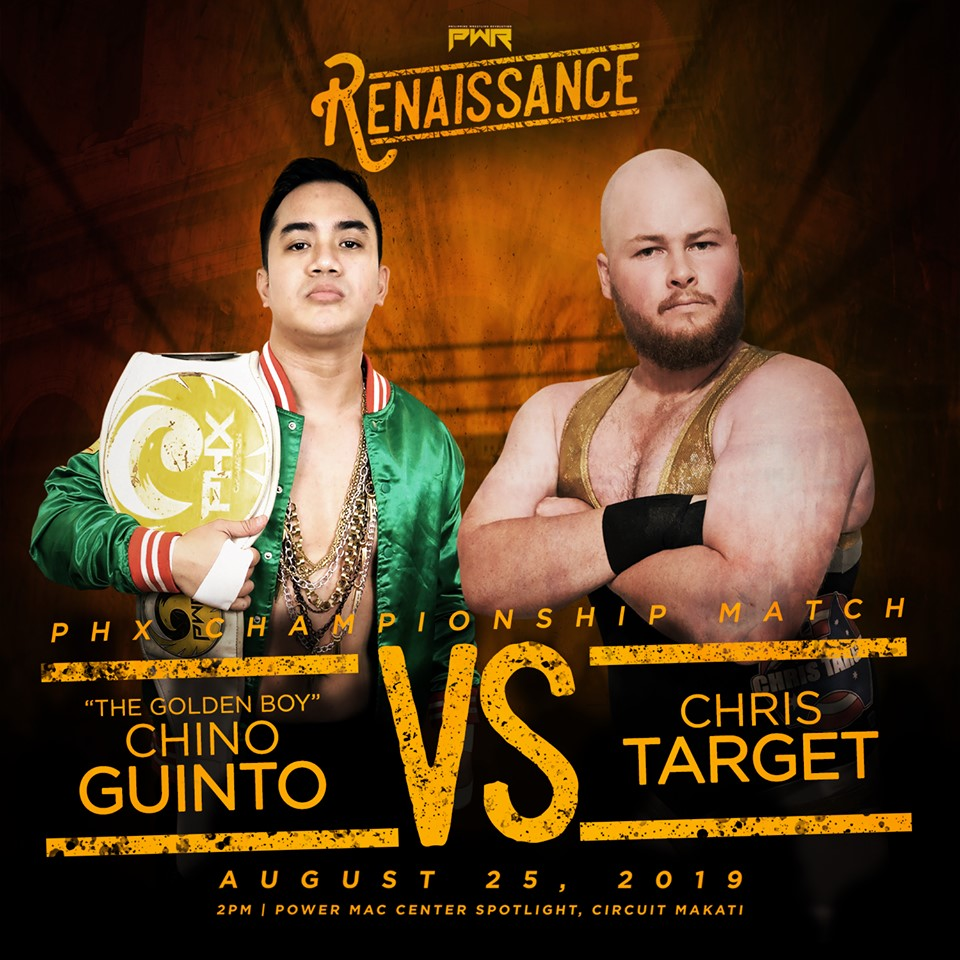 PWR Renaissance Predictions: Chino Guinto vs. Chris Target