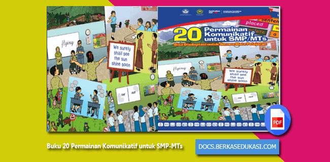 Buku 20 Permainan Komunikatif untuk SMP-MTs