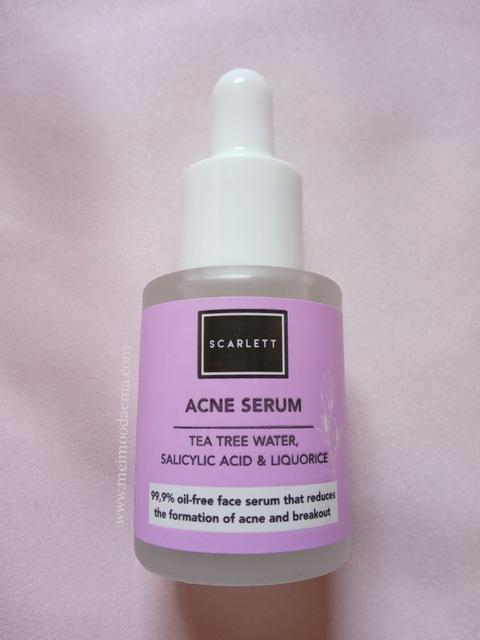 scarlet acne serum