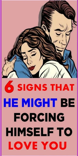 6 Signs That He Might Be Forcing Himself To Love You in