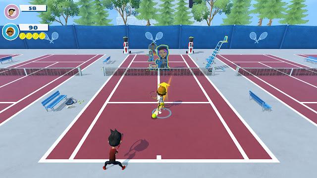Fuera de la pista Instant Sports Tennis