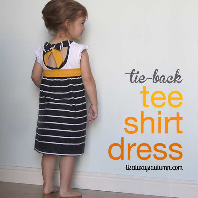 http://www.itsalwaysautumn.com/2013/07/12/tie-back-tee-shirt-dress-an-easy-upcycle.html