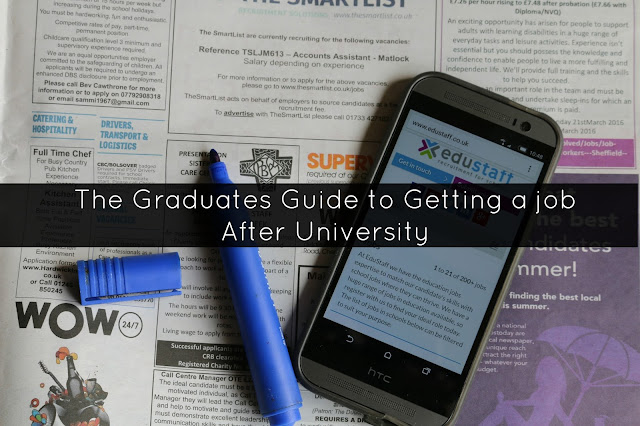The Graduates Guide to Getting a job After University