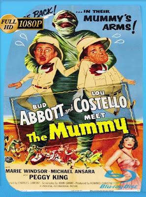 Abbott y Costello Contra la Momia (1955)HD[1080P]latino[GoogleDrive] DizonHD