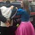 Policial vestida de princesa prende ladrão em Santa Catarina