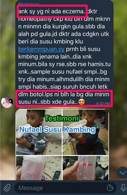 Susu Kambing Nufael