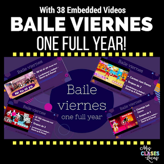 baile viernes for a year!