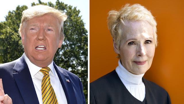 """""""No es mi tipo y miente"""": Trump tras la acusación de agresión sexual de la escritora Jean Carroll"""
