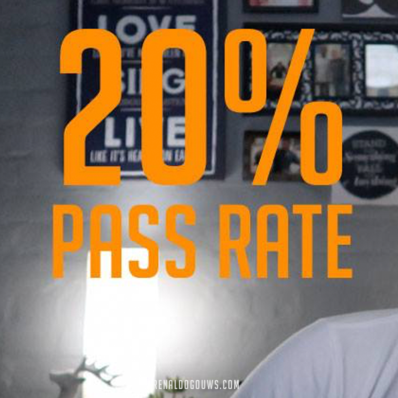 Renaldo Gouws | South Africa: The 20% Pass Rate.
