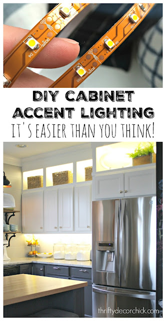 How to install cabinet lighting