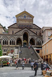 Amalfi's ninth-century cathedral was one building that survived the 1343 disaster