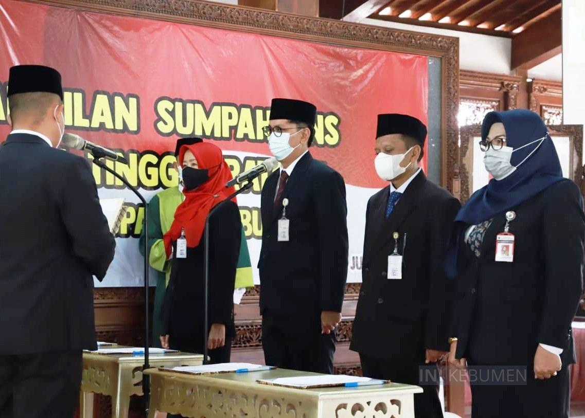 Rotasi Pejabat Eselon 2, Siti Kharisah Kembali Jabat Staf Ahli Bupati Kebumen