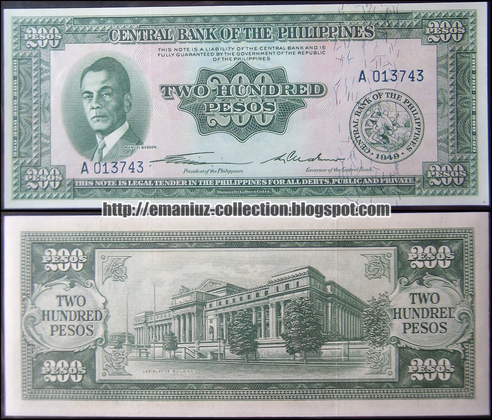 Central Bank Of The Philippines: Philippines P-140