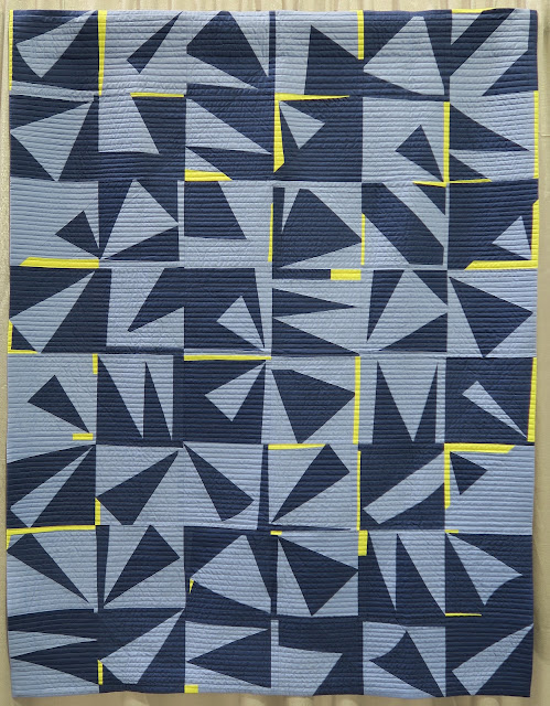 Quiltcon 2019 - Improvisation #4 by Stephanie Schroer - Quilted by Melissa Eubanks