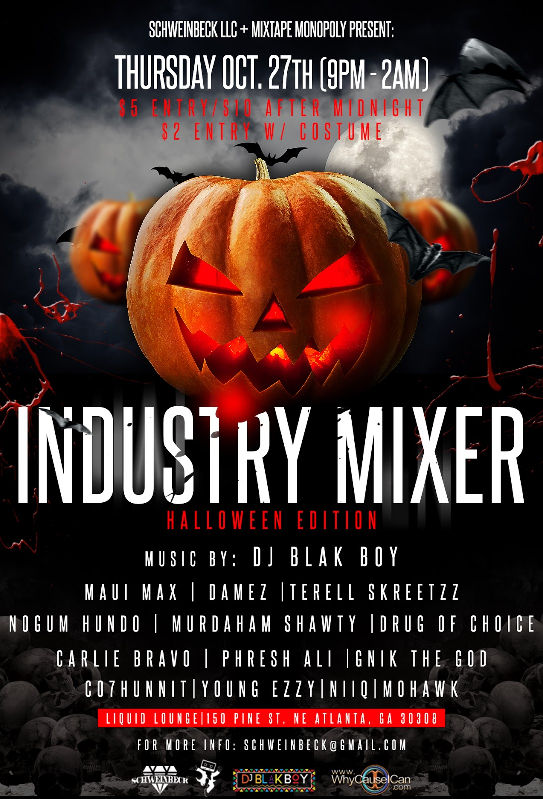 event//: schweinbeck llc + mixtape monopoly present: industry mixer