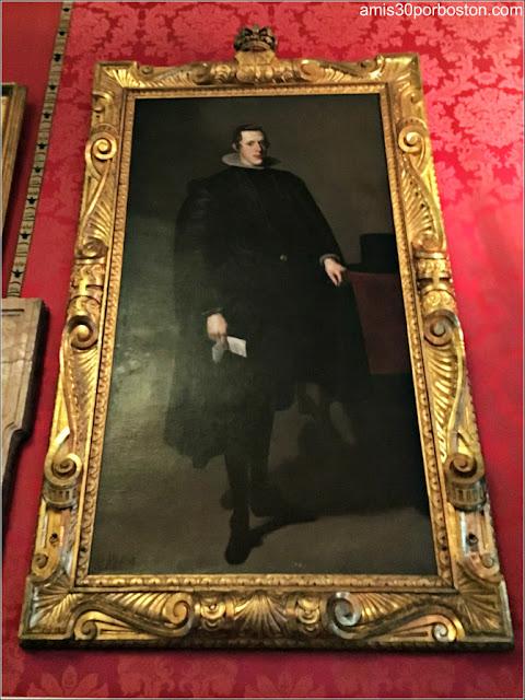 Réplica del Cuadro de Felipe IV de Velázquez en el Isabella Stewart Gardner de Boston