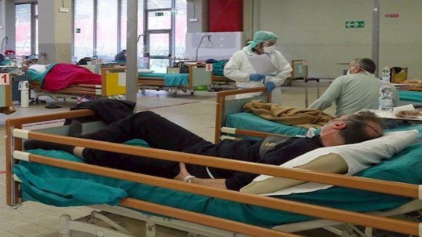 Italia supera los 4.500 casos de Covid-19 en 24 horas