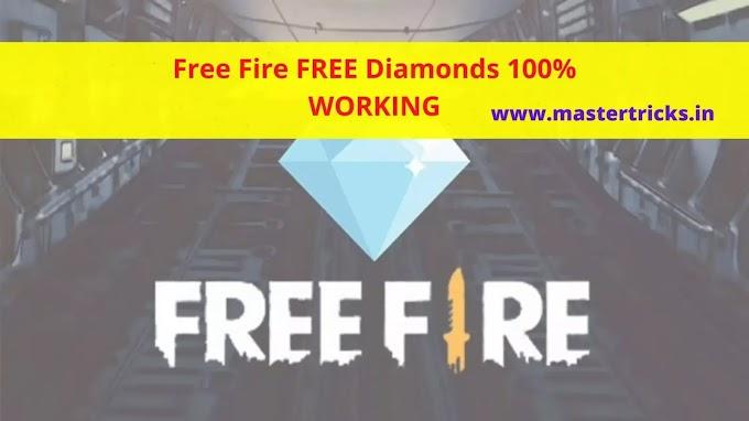 [Trick] Garena Free Fire FREE Diamond | Get Free Fire Diamonds 100% WORKING