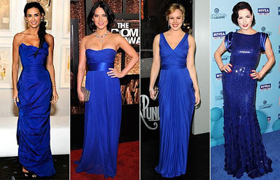 Latest Cobalt Blue Dress Fashion