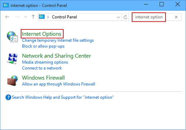 Fix Can't Download Files Error Windows - Method 1