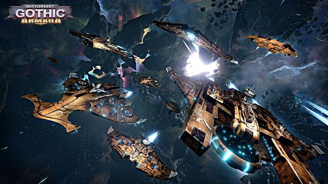 Baixar Battlefleet Gothic: Armada: Tau Empire (PC) + Crack