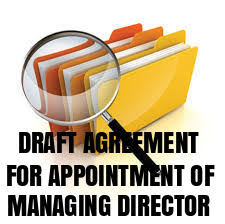 draft-agreement-for-appointment-of-managing-director