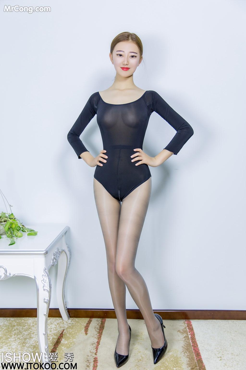 Image ISHOW-No.151-Han-Zhi-Ying-Flora-MrCong.com-001 in post ISHOW No.151: Người mẫu Han Zhi Ying (寒栀樱Flora) (31 ảnh)