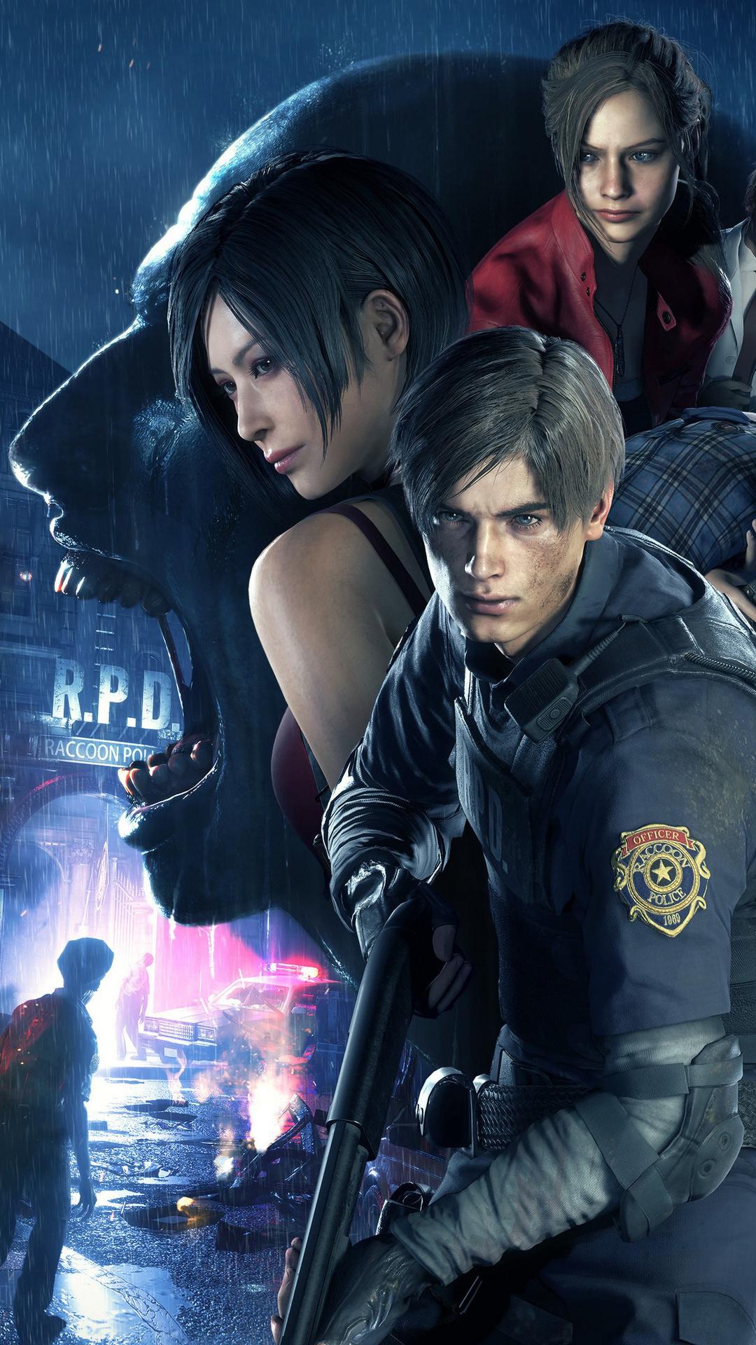 Wallpaper Resident Evil 2, Game, PC, Ps