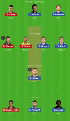ENG vs AUS dream 11 team | AUS vs ENG