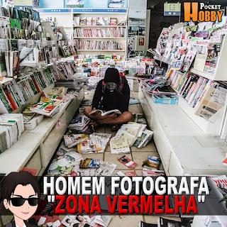 """Pocket Hobby - www.pockethobby.com - Homem Fotografa """"Zona Vermelha"""" de Fukushima Japão"""