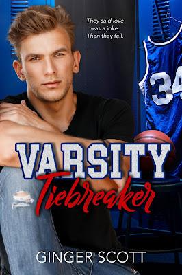 {Cover Reveal} Varsity Tiebreaker by Ginger Scott