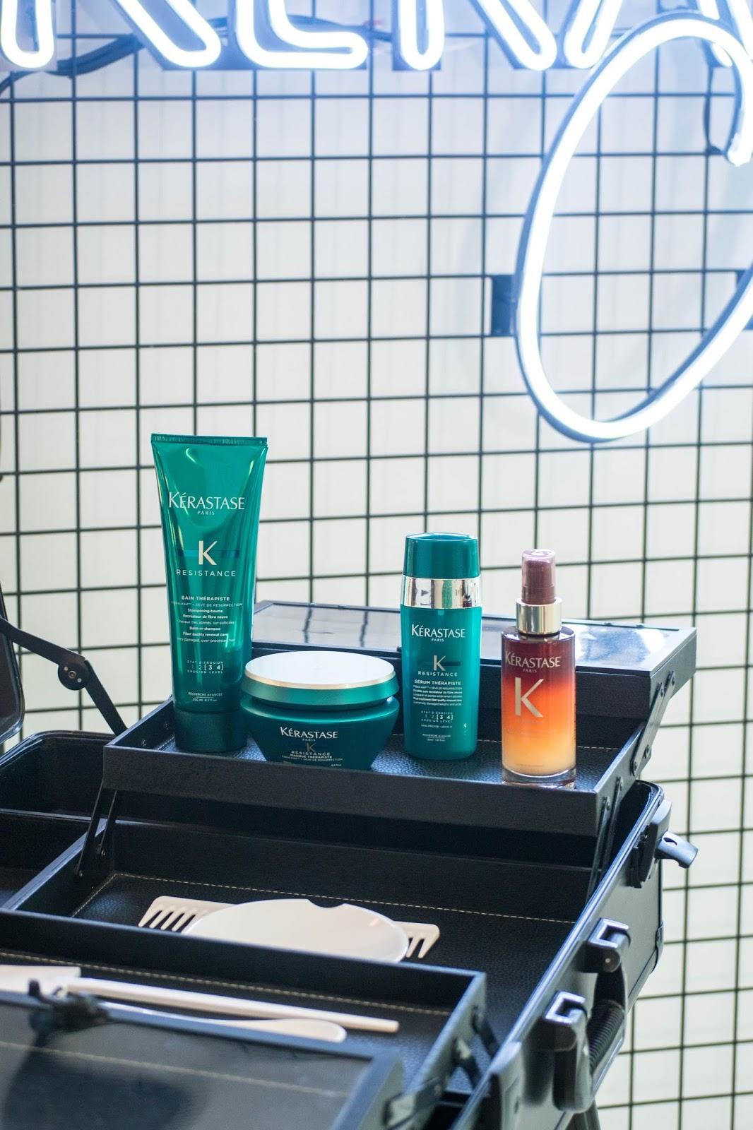 rotina kérastase para cabelos danificados loja do shampoo