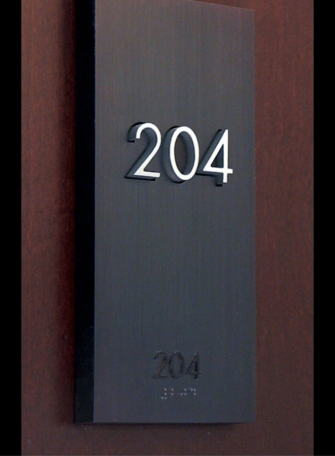 Room Symbol and Room Numbering Method
