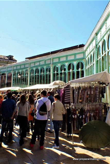 tiendas y mercado en Oviedo