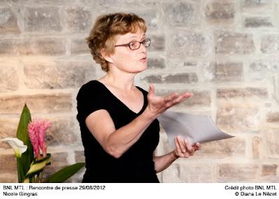 Nicole Gingras nouvelle directrice de la BNL MTL