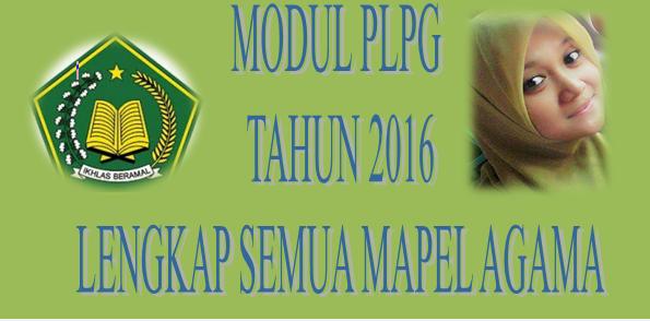 Modul Lengkap Mapel Agama PLPG Tahun 2016