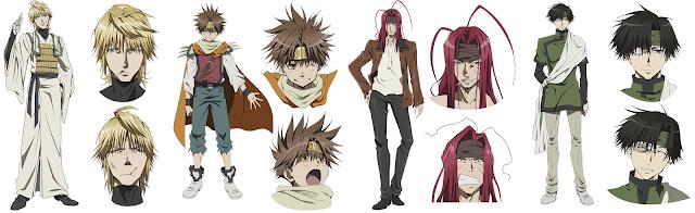 Saiyuki Reload Blast personajes