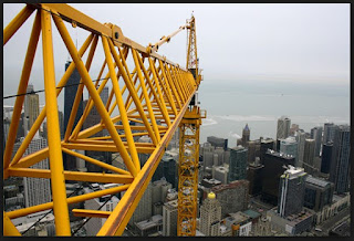 Horizontal jib crane