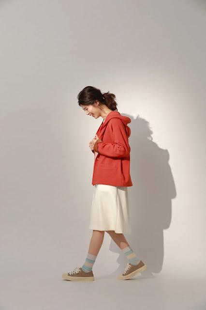許許兒最初的起點有機棉初芽上衣配有機棉A字裙