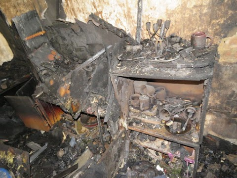 Ennyi maradt a felgyújtott kaposvári családi házból - galéria