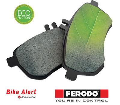 Τακάκια Μοτοσυκλέτας Ferodo Eco Friction