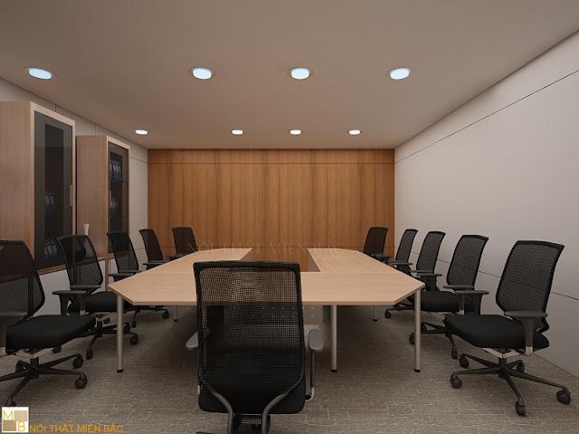 Thiết kế nội thất phòng họp giá rẻ theo phong cách hiện đại - H2
