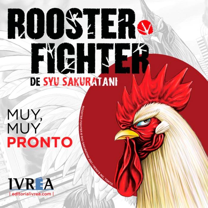 Rooster Fighter (Niwatori Fighter) manga - Syu Sakuratani - Ivrea