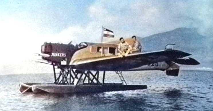 Düşen uçağın sırrı 39 gün sonra çözüldü, çünkü uçağın pilotu Hans Bertram anca bulundu.